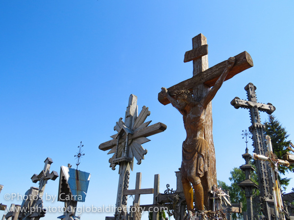 L Hill of Crosses 2 by Carra Riley