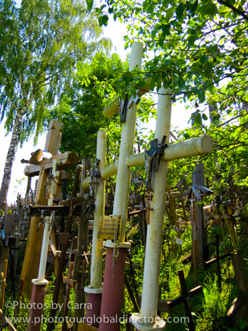 L Hill of Crosses 6 by Carra Riley