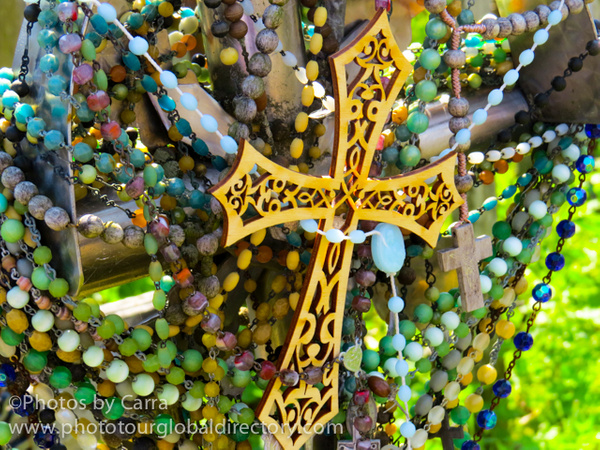 L Hill of Crosses we left this by Carra Riley