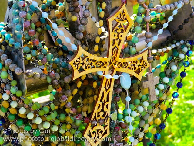 L Hill of Crosses we left this