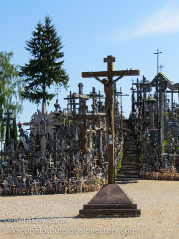 L Hill of Crosses by Carra Riley