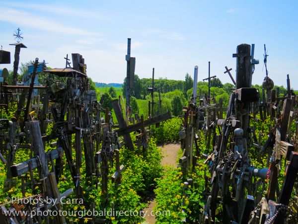 L Hill of Crosses 12 by Carra Riley