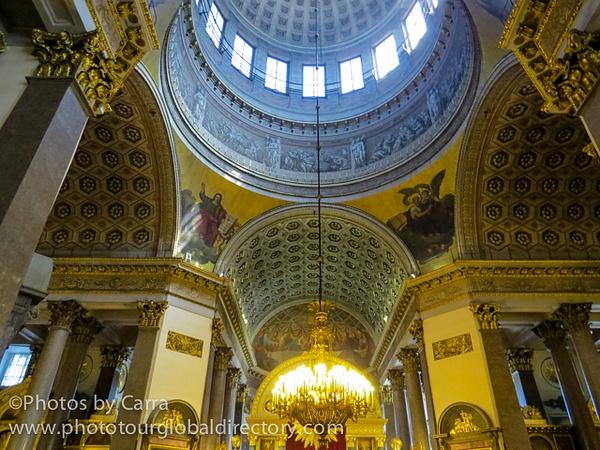 R St Petersburg Church 3 by Carra Riley