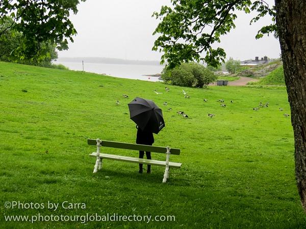 F Suomenlinna 30 umbrella by Carra Riley