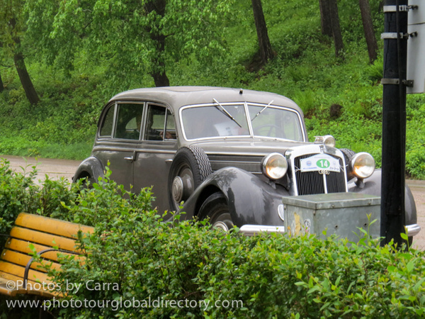 F Porvoo  German limo WWII by Carra Riley