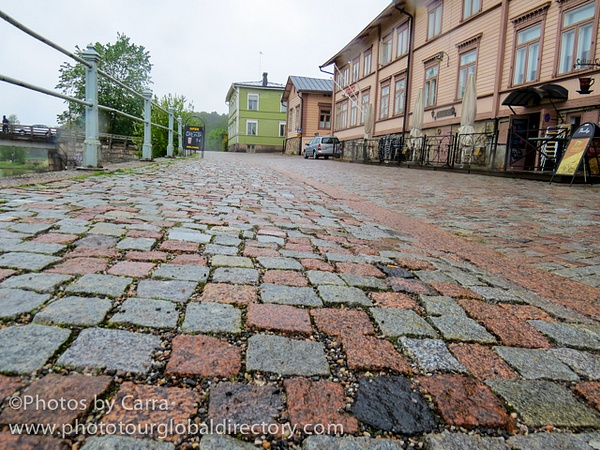 F Porvoo  stone street_ by Carra Riley