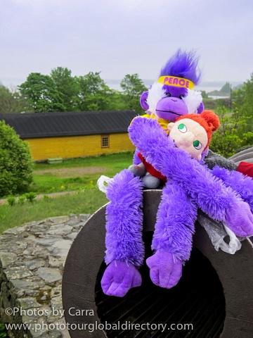 F Suomenlinna 25 canon peace monkey and PIKKU MYY