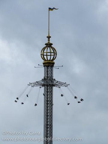 S Stockholm Sweden flying swings
