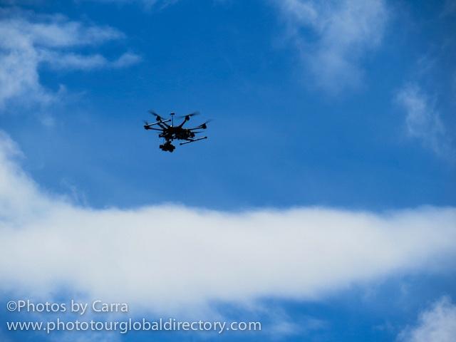 S Stockholm Sweden Marathon drone 1