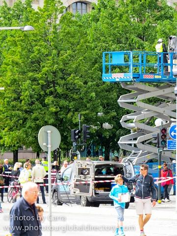 S Stockholm Sweden Marathon by Carra Riley