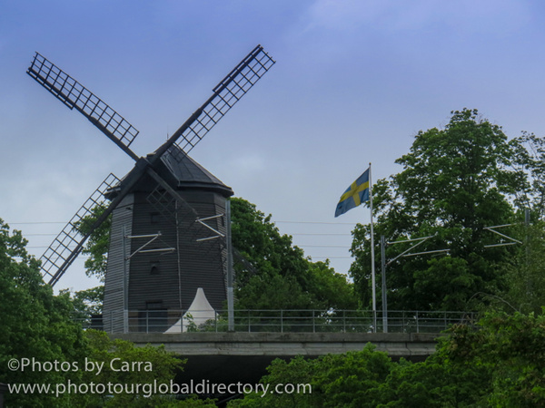 S Stockholm Sweden windmill by Carra Riley