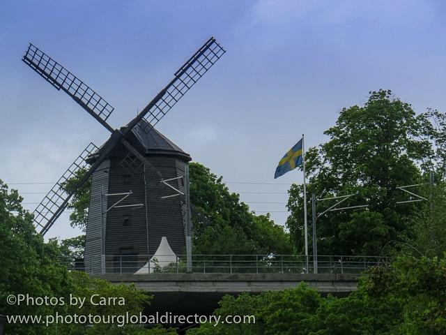 S Stockholm Sweden windmill