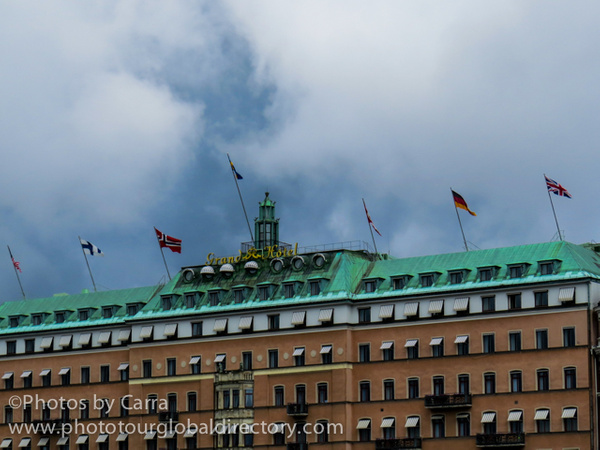 S Stockholm Sweden Grand Hotel  2 by Carra Riley