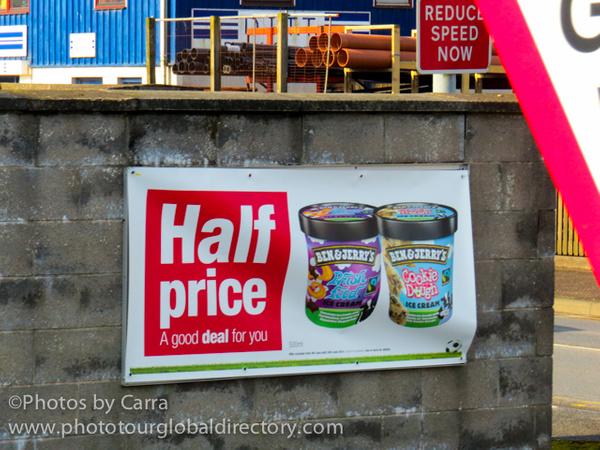 Shetland Ben and Jerry's half price_ by Carra Riley