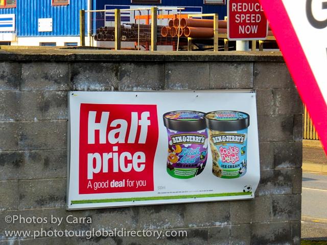 Shetland Ben and Jerry's half price_