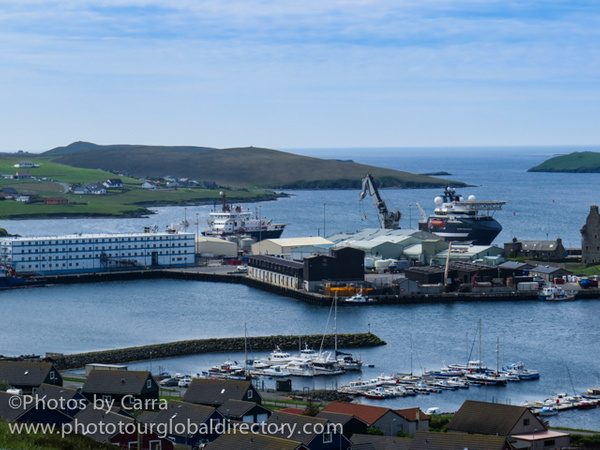Shetland city 2 dock by Carra Riley