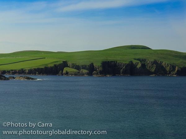 Shetland coast by Carra Riley