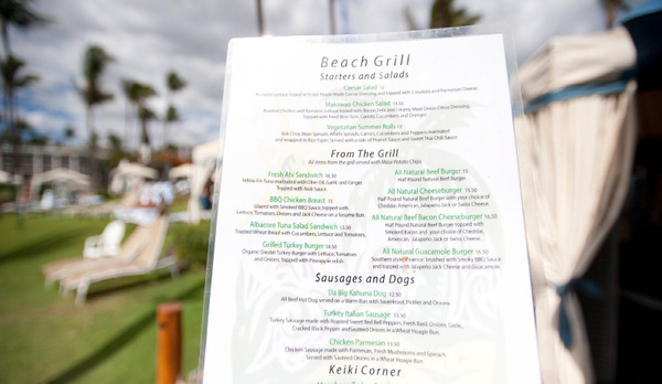 Menu by JustAGirlFrom LAPhotography