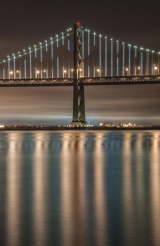 14.Dancing Bay Bridge Lights