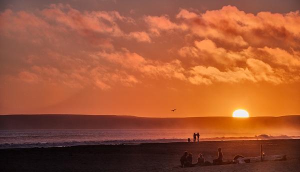 14.Beach Scene by Harvey Abernathey