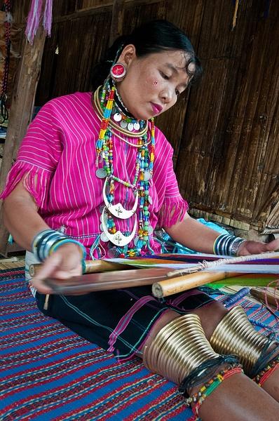 23.Tonya Weaving by Harvey Abernathey