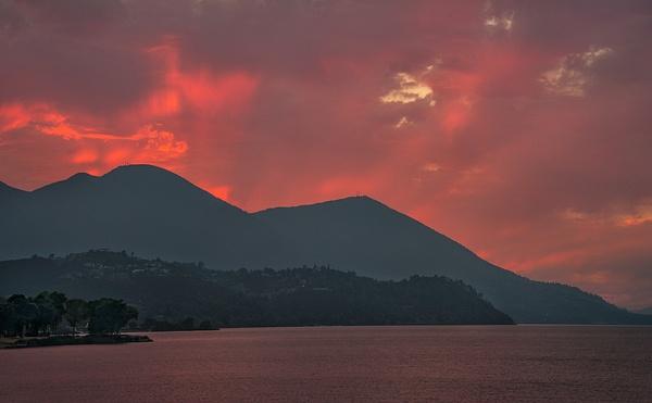 42.Konocti Sunset by Harvey Abernathey