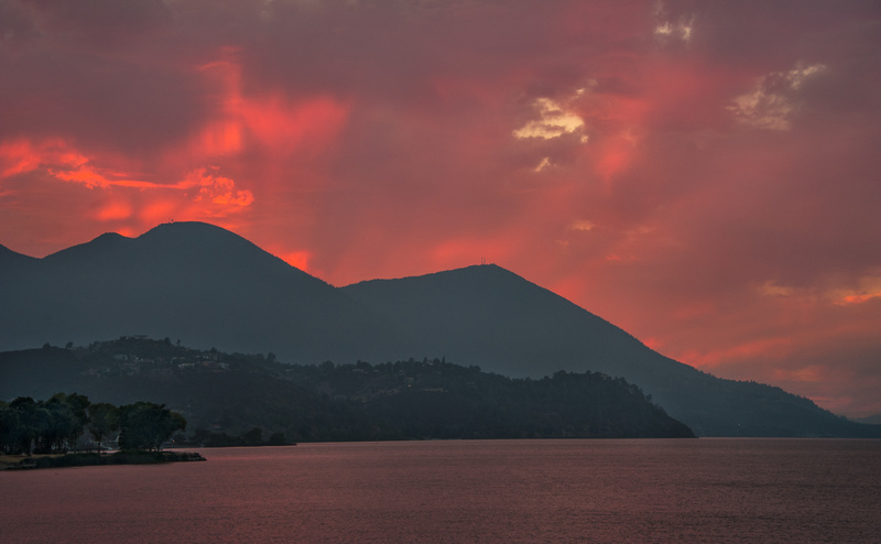 42.Konocti Sunset