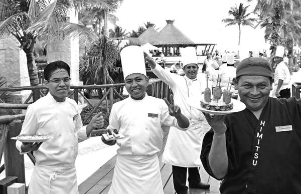 CHEFS AT RESORT, MEXICO