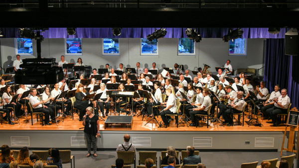 Greenville Concert Band by CC Robinson