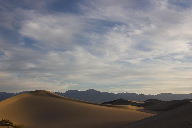 Cloudy Dunes
