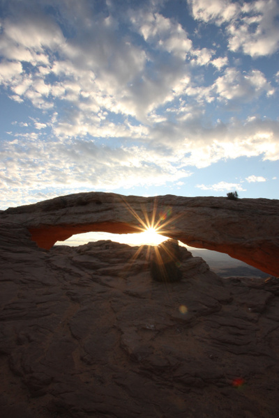 Mesa Arch Shines by JennHicks