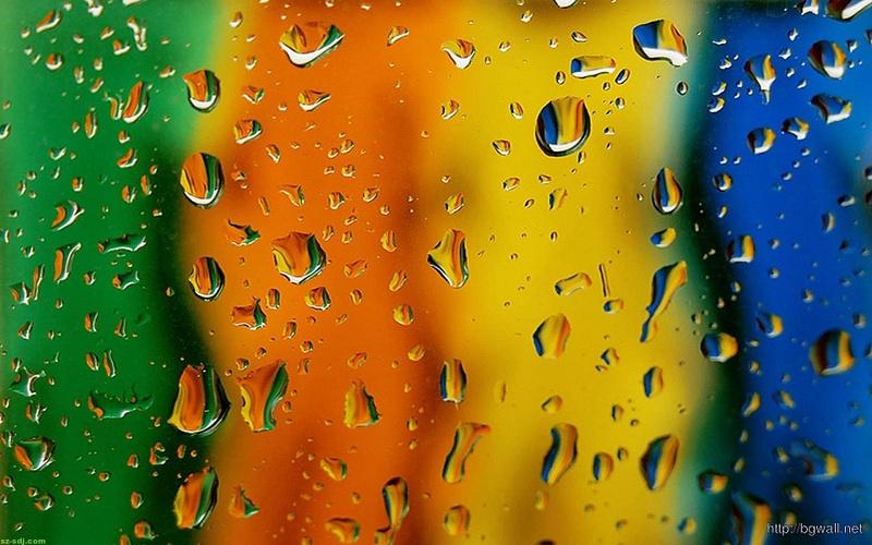 full-color-drop-water-wallpaper