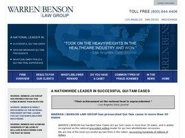 SPECIALIZING IN MEDICARE FRAUD QUI TAM CASES by Warrenbensonlaw