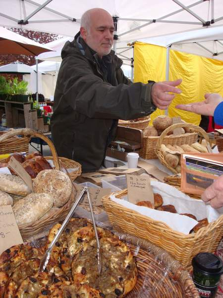 Salt Spring Market Bloom Bread... Tony !