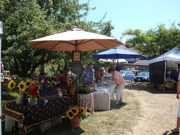 Farmer's Market Salt Spring 2010