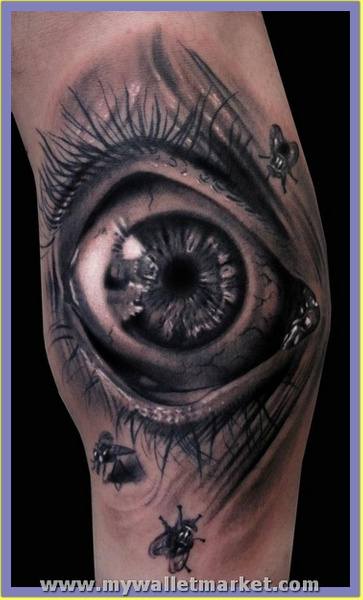 3d-tattoo-eye by catherinebrightman