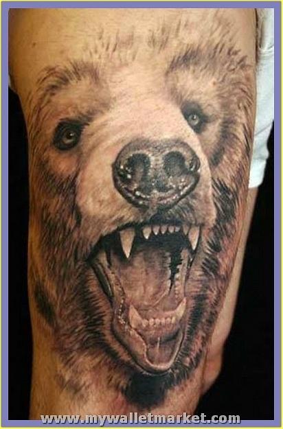 3d-tattoos-hairy-bear