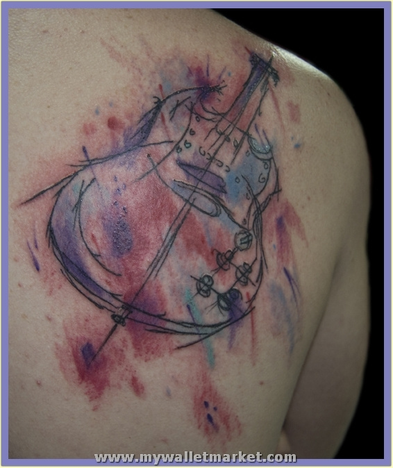 abstract_guitar_tattoo