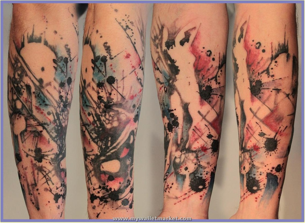 abstract_ladies_sleeve_tattoo by catherinebrightman