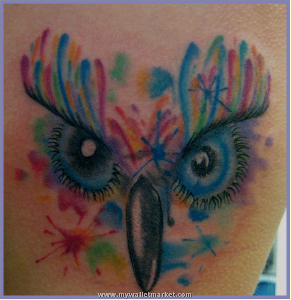 abstract_tattoo_owl by catherinebrightman