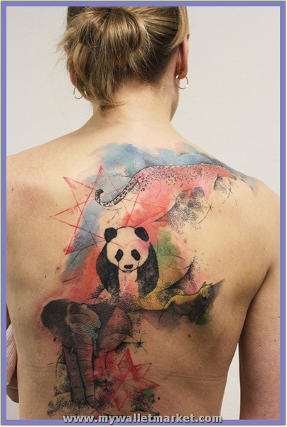 abstract-animals-back-tattoo by catherinebrightman