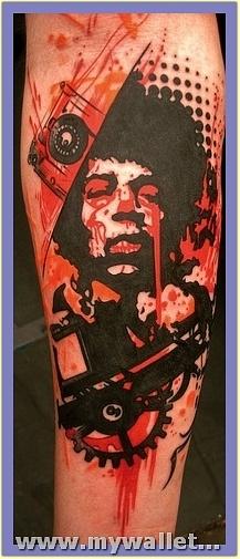 abstract-tattoo-on-leg