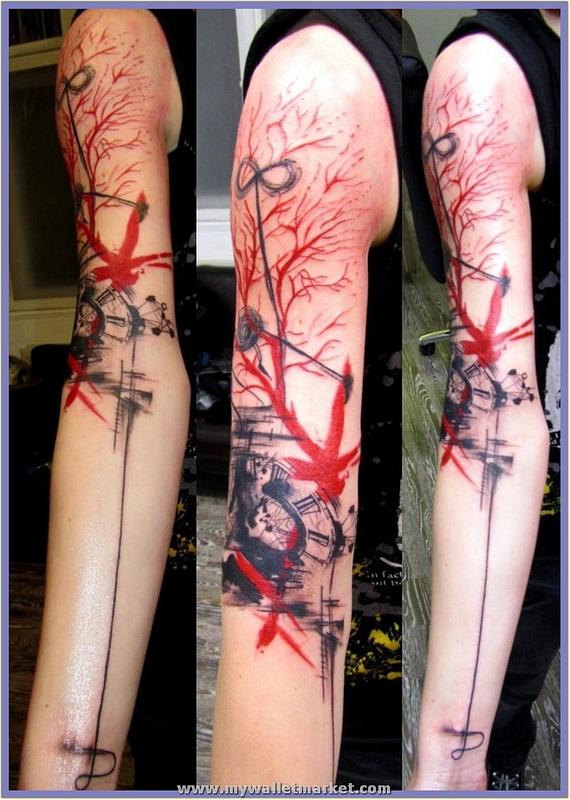 abstract-trash-tattoo