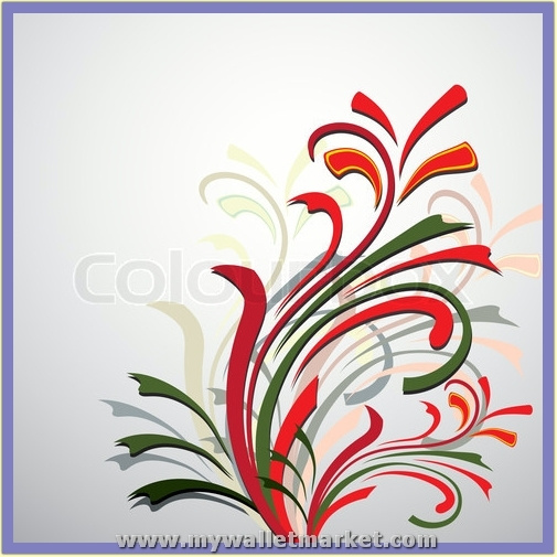 abstract-bouquet-vector-illustration by catherinebrightman