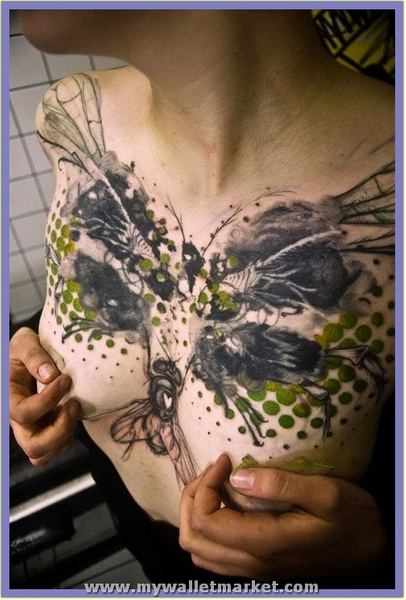 abstract-chest-tattoo by catherinebrightman
