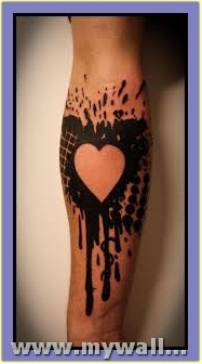 abstract-heart-tattoo by catherinebrightman
