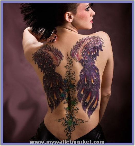 back-tattoos-for-women-_-abstract-wings