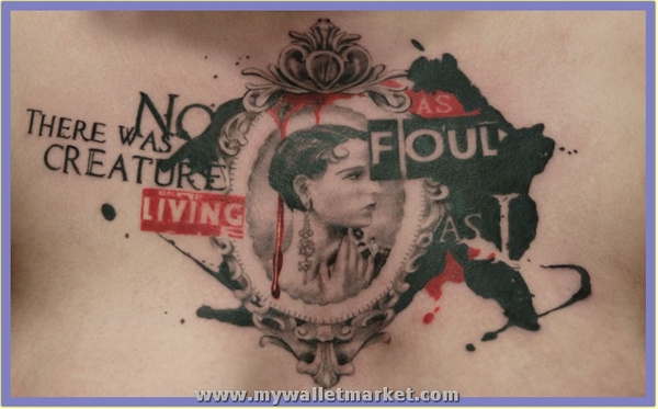 cameo_and_bukowski_chest_piece by catherinebrightman