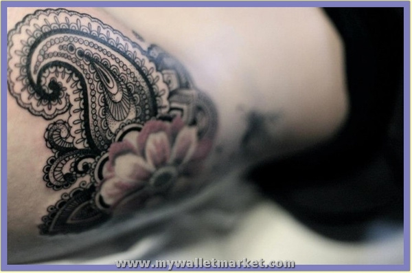 a-close-up-photo-of-this-feminine-paisley-tattoo by...