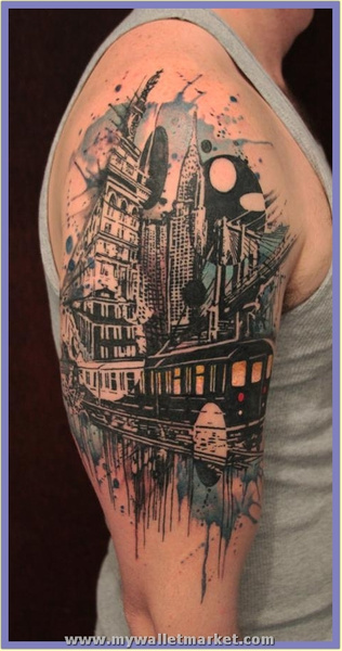 tattoo-color-tattoo-arm-tattoo-abstract by...